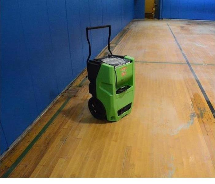 Saving a gym floor After